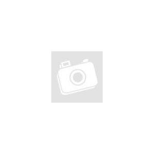 Cyryl szőrme hatású párnahuzat Kék / fekete 45 x 45 cm