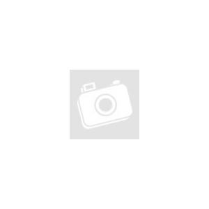 Oliwia mintás dekor függöny Fehér / acélszürke 140 x 250 cm - HS367192