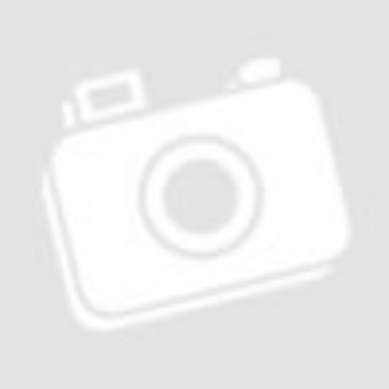 OLIVIA fém váza arany csíkos 19cm