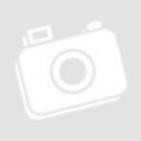 Tilda mintás dekor függöny Fehér/Ezüst 140x250 cm